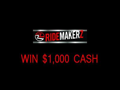 www.ridemakerz.com/survey Ridemakerz Customer Survey $1,000 Cash