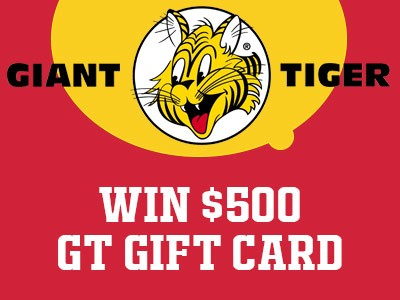 www.gianttiger.com/survey Giant Tiger Customer Experience Survey $500 Gift Card