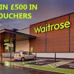 www.waitrosecares.com Waiitrose Customer Feedback Survey £500 in Waiitrose Vouchers
