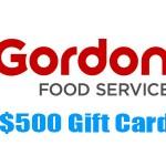 www.gfsmarketplace.com/survey Gordon Food Service Store Web Survey $500 Gift Card