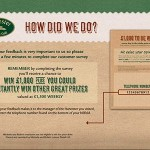 www.harvester-survey.com Harvester Salad & Grill Customer Survey Empathica Cash Prize