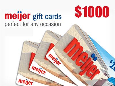 www.tellmeijerrx.smg.com Meijer Customer Feedback Survey $1,000 Meijer Gift Card