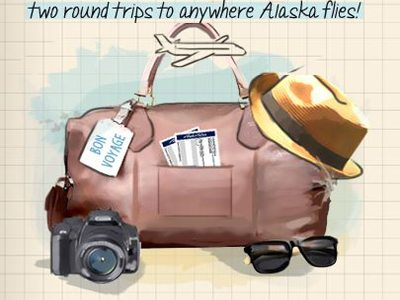 survey.alaskalistens.com Alaska Airlines Customer Feedback Survey Two Round Trips to Anywhere Alaska Flies