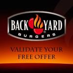 www.backyardburgersfeedback.com Back Yard Burgers Receipt Guest Satisfaction Survey Free Offer