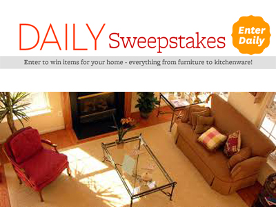 wing Better Homes and Gardens Daily Sweepstakes Houseware