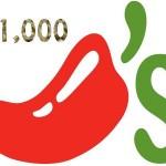 www.go-chilis.com Chili's Guest Experience Survey $1,000 Cash