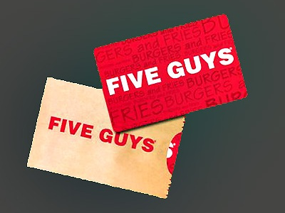 www.fiveguys.com/survey Five Guys Customer Experience Survey $25 Gift Card