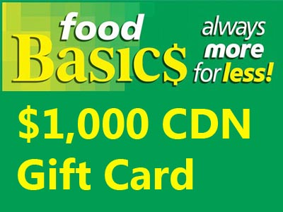 www.foodbasicsfeedback.com Food Basics Survey $1,000 in Metro Gift Cards