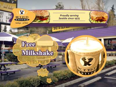 www.tellkiddvalley.com Kidd Valley Feedback Survey Coupon for Free Small Milkshake