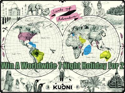 www.kuoni.co.uk/survey Kuoni Online Customer Opinion Survey Luxurious Worldwide 7 Night Holiday