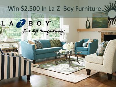 www.lzb-survey.com La-Z- Boy Delivery Survey $2,500 In La-Z- Boy Furniture