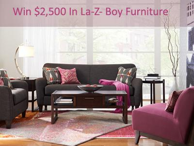 www.lzb-store.com La-Z-Boy Store Survey $2,500 in La-Z- Boy Furniture
