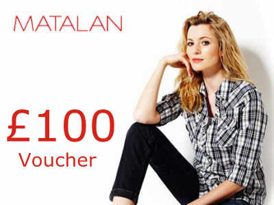www.matalan-survey.co.uk the Matalan Customer Survey £100 Voucher