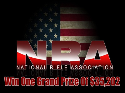 www.nra.org/sweepstakes National Rifle Association of America NRA Sweepstakes One Grand Prize of $35,202
