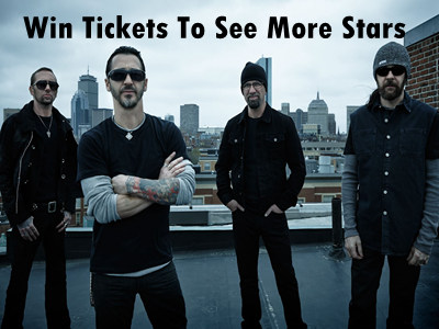 www.unionleader.com/contests New Hampshire Contest Tickets to See Godsmack and Other Superstars