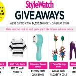 peoplestylewatch.com/giveaways People Magazine Stylewatch Giveaways Sweepstakes Various Beauty Prizes
