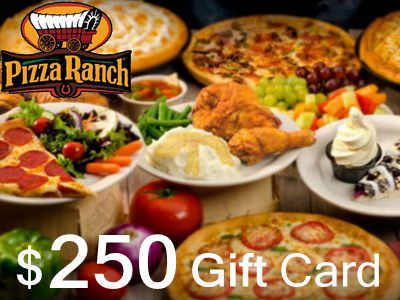 www.pizzaranchfeedback.com Pizza Ranch Guest Survey $250 Gift Card