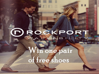 www.rockport.com/feedback Rockport Customer Satisfaction Survey One Pair of Rockport Shoes