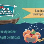 www.shrimphouse.com/guest-survey Sea Island Shrimp House Guest Survey Free Appetizer and $50 Gift Certificate