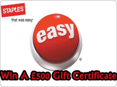 www.staples-survey.co.uk Staples Retail Customer Satisfaction Survey £500 Staples Gift Certificate
