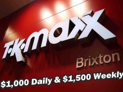 www.tkmaxxcare.com T.K. Maxx Customer Experience Survey Empathica Cash and £250 T.K. Maxx Gift Card