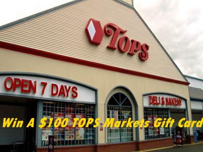 www.surveytops.com TOPS Markets Customer Satisfaction Survey $100 TOPS Markets Gift Card