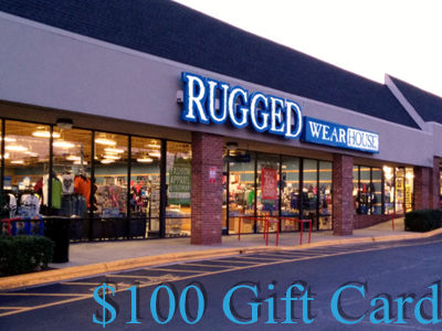 www.ruggedwearhouse.com/survey the Rugged Wearhouse Customer Experience Survey One $100 Gift Card