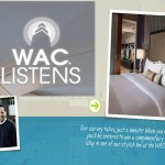 survey.waclistens.com WAC Listens Survey Complimentary Night's Stay in One of the Stylish Inn at the WAC Suites