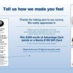 www.ourbootsfeedback.co.uk Boots Customer Feedback Survey £200 Worth of Advantage Card Points