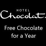 www.tellhotelchocolat.com Hotel Chocolat Monthly Prize Draw Free Chocolate for Year