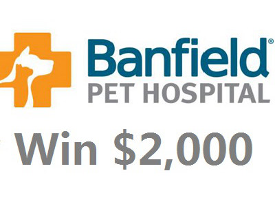 www.tellbanfield.com Banfield Pet Hospital Client Experience Survey $2,000 Cash