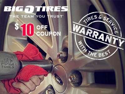 www.tellbigo.com Big O Tires Guest Survey $10 off Coupon