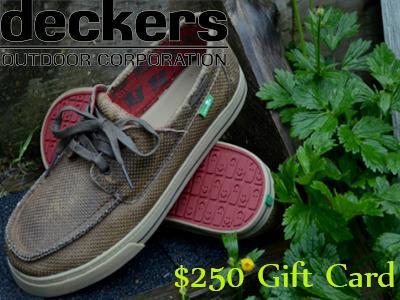 www.deckerslistens.com Deckers Guest Survey $250 Gift Cards