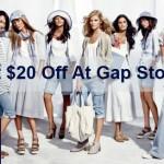 www.survey4gap.com Gap Feedback Survey $20 Off Offer