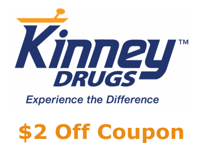 www.kinneykares.com Kinney Drugs Customer Experience Survey $2 Off Coupon