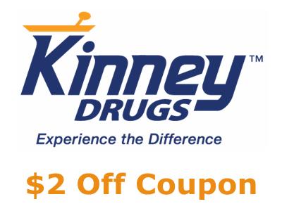 www.kinneykares.com Kinney Drugs Customer Experience Survey $2 Off Coupon