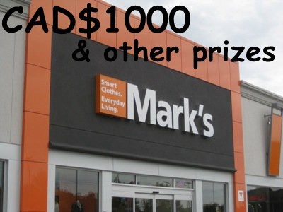 www.marks-survey.com Mark's Customer Satisfaction Survey $1,000 Cash