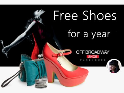 www.offbroadwaysurvey.com Off Broadway Shoes Survey Free Shoes for a Year