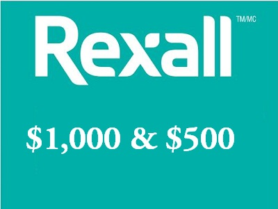www.tellrexall.ca Rexall Customer Feedback Survey $1,000 Cash
