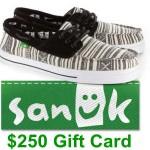 www.sanuklistens.com Sanuk Guest Survey $250 Gift Card
