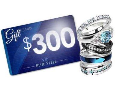 www.facebook.com/buybluesteel Blue Steel Jewelry Win $300GC Monthly Giveaway Blue Steel Gifts