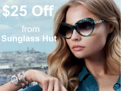 www.sunglasshutfeedback.com Sunglass Hut Customer Survey $25 off Validation Code
