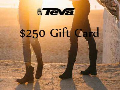 www.tevalistens.com Teva Guest Survey $250 Gift Cards