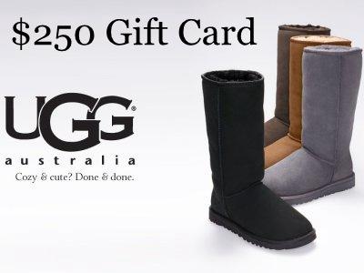 www.ugglistens.com UGG Australia Survey $250 Deckers Gift Card