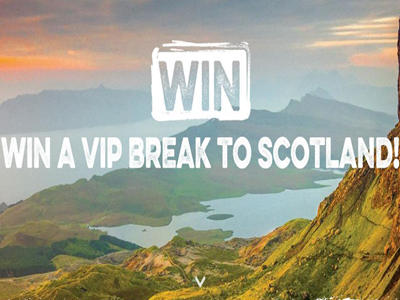 www.visitscotland.com/win Visit Scotland Sweepstakes 7 Night Stay in Scotland