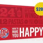 www.tellbostonpizza.com Boston Pizza Guest Satisfaction Survey $200 Boston Pizza Gift Card