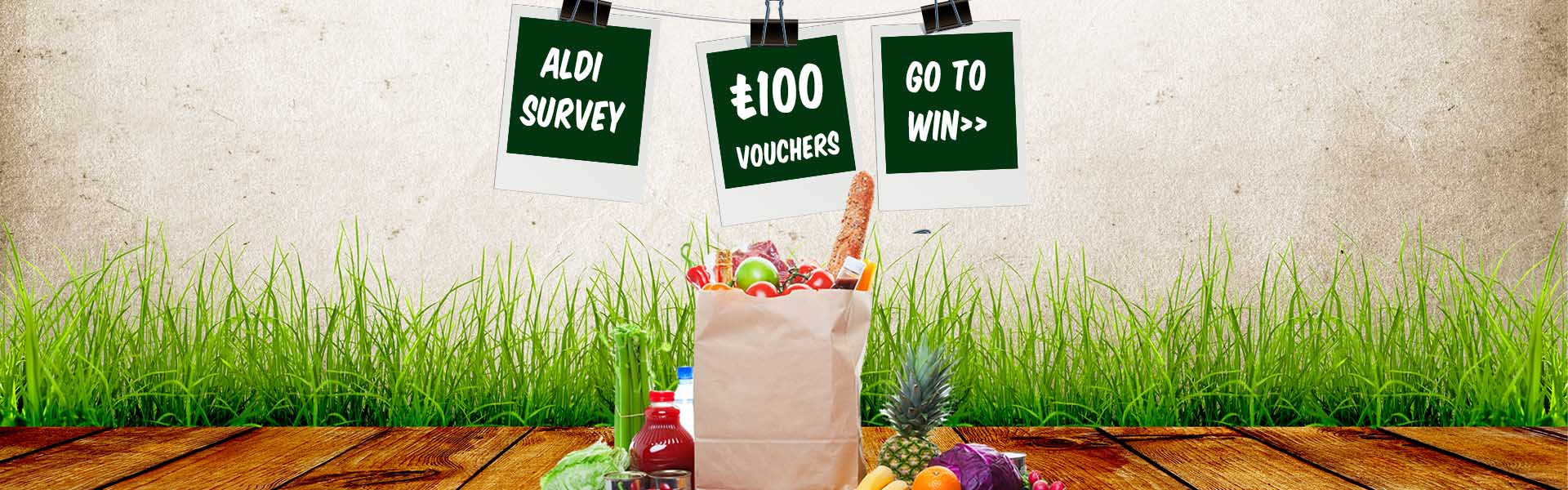 www.tellaldi.com - Tell Aldi Survey £100 in Aldi Vouchers